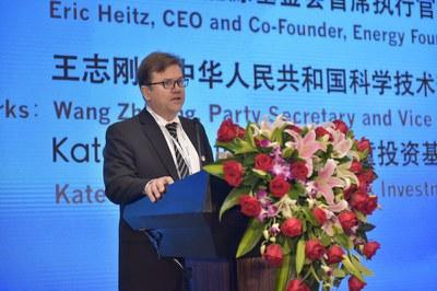 能源基金会首席执行官和联合创始人 Eric Heitz