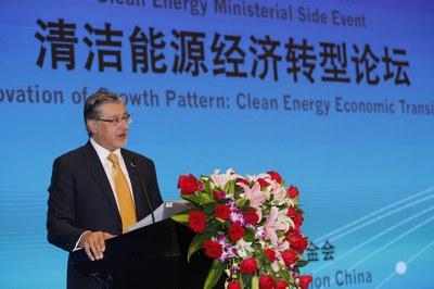 国际可再生能源署总干事 Adnan Z. Amin