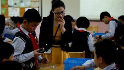 2016年5月11日上午,教材试点学校推广,南京市金陵中学仙林分校小学部课堂教学